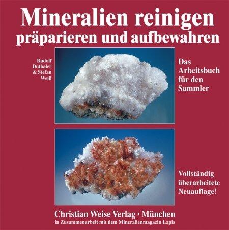 Er zijn boeken in de handel hoe je het beste mineralen kunt reinigen