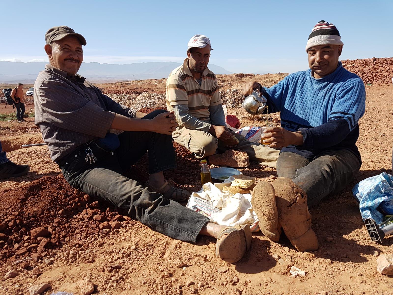 Diverse donateurs zijn in 2019 naar Marokko gegaan.
