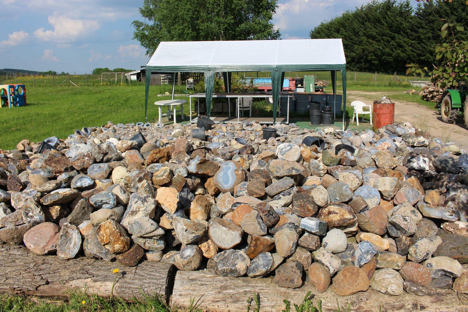 De agaten verkoopplaats te Bruchweiler