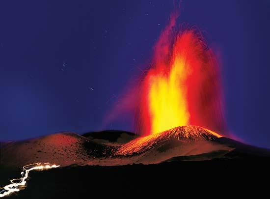 Uitbarsting van de Etna