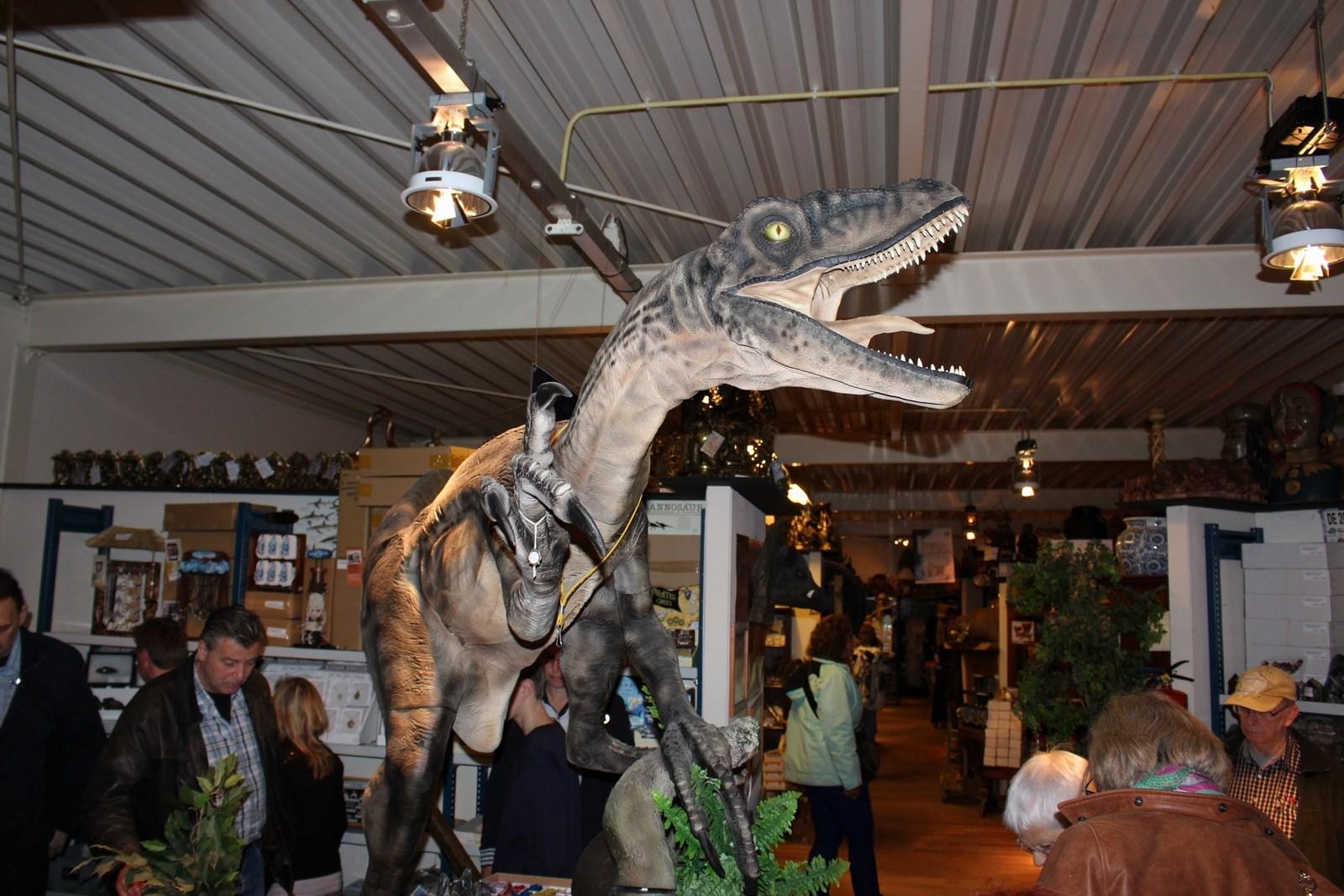Zelfs een levensechte dinosaurs ontbreekt niet bij TimmersGems